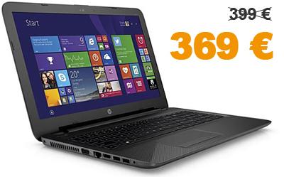 HP Notebook für nur 369 €