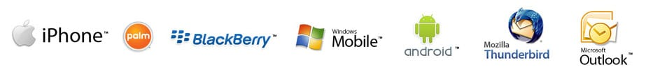 Email Postfach Synchronisation: z.B. mit iPhone, Blackberry, Palm, Windows Mobile, Android, Mozilla Firebird, MS Outlook...